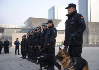 保安人员穿假警服被处罚!