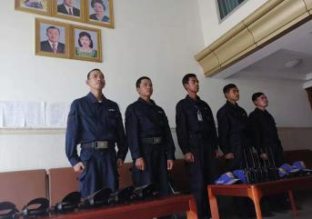 初期火警,菏泽保安公司5个处理程序